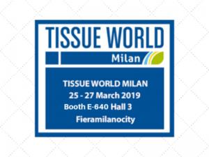 Tissue World Milan, 25-27 March 2019