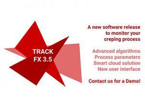 Track FX 3.5: nuovo software per monitorare il processo di crespatura