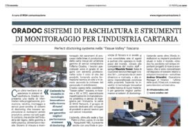 Oradoc on the Corriere pages!
